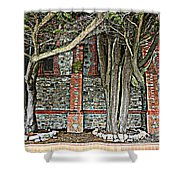 Christ Church Cathedral Port Stanley Falkland Islands Shower Curtain