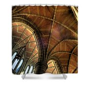 Christ Church Cathedral Roof Detail Shower Curtain