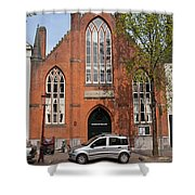 Christ Church Of England In Amsterdam Shower Curtain