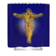Christ Caramel And Honey Shower Curtain