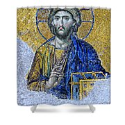 Christ Pantocrator II Shower Curtain
