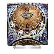 Christ Pantocrator -- No.5 Shower Curtain