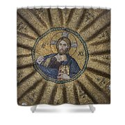 Christ Pantocrator Surrounded By The Prophets Of The Old Testament 1 Shower Curtain