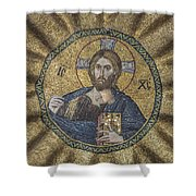 Christ Pantocrator Surrounded By The Prophets Of The Old Testament 2 Shower Curtain
