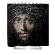 Christ Suffering Shower Curtain