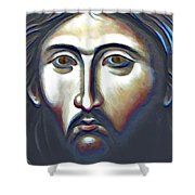 Christ The Judge Shower Curtain