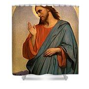 Christ Weeping Over Jerusalem Ary Scheffer Shower Curtain