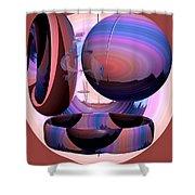 Christalline Energies Shower Curtain