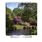 Christchurch Botanic Gardens New Zealand Shower Curtain