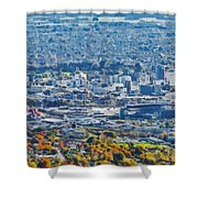 Christchurch City Shower Curtain