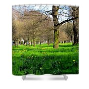 Christchurch Gardens Shower Curtain