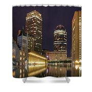 Christian Science Center-boston Shower Curtain by Joann Vitali