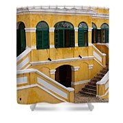 Christiansted National Historic Fort Shower Curtain
