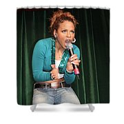 Singer Christina Milian Shower Curtain