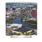 Christina Riverfront Shower Curtain