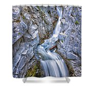 Christine Falls In Mount Rainier National Park Shower Curtain