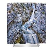 Christine Falls In Mount Rainier National Park Shower Curtain