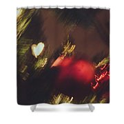 Christmas Abstract Vii Shower Curtain