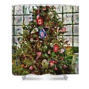 Christmas - An American Christmas Shower Curtain