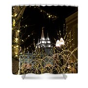 Christmas At Temple Square 11 Shower Curtain