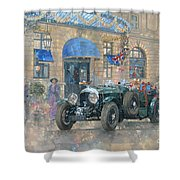 Christmas At The Ritz Shower Curtain