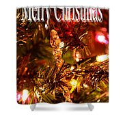 Christmas Card 1 Shower Curtain