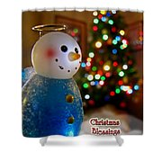 Christmas Card II Shower Curtain