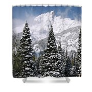 Christmas Card Perfect Shower Curtain