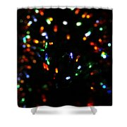 Christmas Colors Shower Curtain
