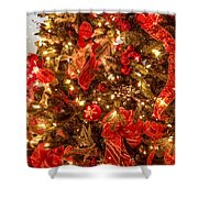 Christmas Dazzle Shower Curtain