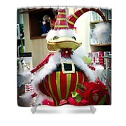 Christmas Decor Shower Curtain by Jon Berghoff