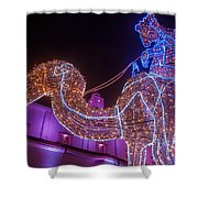 Christmas Decorations Shower Curtain