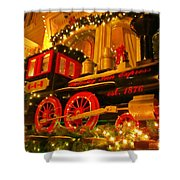 Christmas Express Shower Curtain