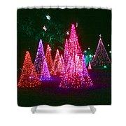 Christmas Hues Shower Curtain