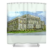 Christmas In Carrollton Ga Shower Curtain