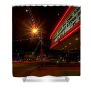 Christmas In Columbiana Ohio Shower Curtain