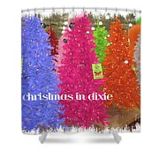 Christmas In Dixie Shower Curtain