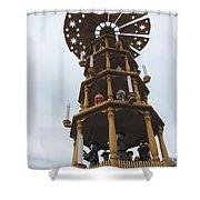 Christmas In Fredericksburg Shower Curtain