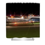 Christmas Light Porter Shower Curtain