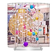 Christmas Lights V2 Shower Curtain