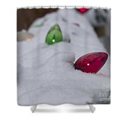 Christmas Lights1 Shower Curtain