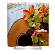 Christmas Mele Shower Curtain