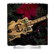 Christmas Music Shower Curtain