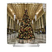 Christmas On 30th Street Shower Curtain