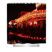 Christmas On East Lake 4 Shower Curtain