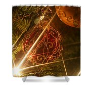 Christmas Ornaments 1 Shower Curtain