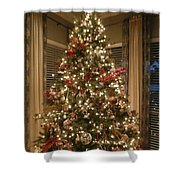 Christmas Past Shower Curtain