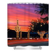 Christmas, Phoenix, Arizona, Usa Shower Curtain