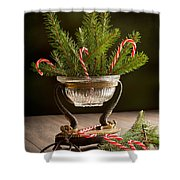 Christmas Pine Shower Curtain
