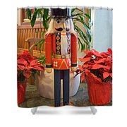 Christmas Sentinel  No 1 Shower Curtain